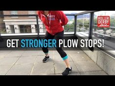 From freshie to veteran, we can ALL benefit from stronger plow stops! Learn the 3 key ingredients to stronger plow stops, and 6 simple moves that will help you stop on a dime. Roller Derby Drills, Roller Derby Skates, Quad Skates, Roller Skating, Girls Football Boots, Skateboard Girl, Derby Day, Skater Girls, Figure Skating