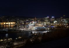 Oslo by night!
