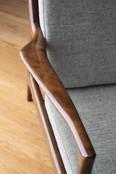 Danish Modern Selig Lounge Chair 6