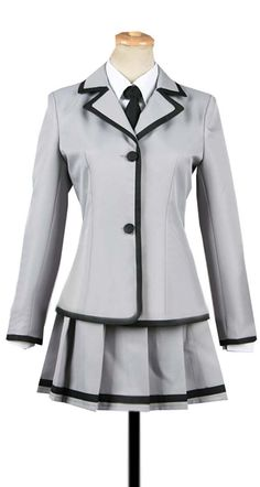 Dreamcosplay Anime Assassination Classroom Kayano Kaede School Suit Cosplay Costume * Check this awesome product by going to the link at… Cute Skirt Outfits, Cute Outfits With Jeans, Cute Skirts, Simple Outfits, Pretty Outfits, Cosplay Costumes For Men, Cosplay Outfits, Kpop Fashion Outfits, Girl Outfits