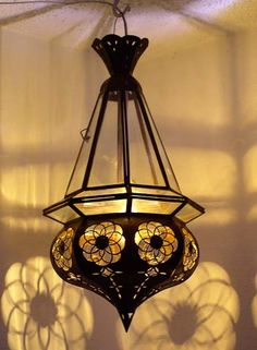 Moroccan Lantern Shadows