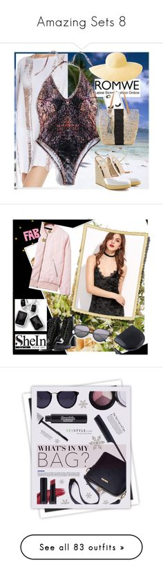 """""""Amazing Sets 8"""" by thea-bleasdille ❤ liked on Polyvore featuring Rianna Phillips, Kayu, Maaji, Fendi, Columbia, contest, shein, beauty, Lazy Corner and Baviphat"""