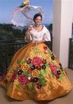Philippine National Symbol or Mga Pambansang Sagisag ng Pilipinas Maria Clara Dress Philippines, Philippines Outfit, Philippines Fashion, Philippines Culture, Modern Filipiniana Gown, Filipiniana Wedding, Filipino Culture, Costumes Around The World, Filipina Beauty