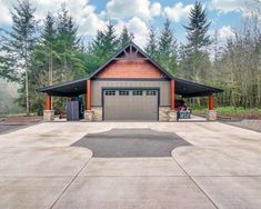 Top 60 Best Detached Garage Ideas - Extra Storage Designs Discover spare storage solutions for your vehicles, tools and more with the top 60 best detached garage ideas. Garage Building Plans, Plan Garage, Garage Shed, Garage House, Garage Ideas, Garage Workshop, Detached Garage Cost, Detached Garage Designs, Design Garage