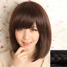 GET $50 NOW | Join RoseGal: Get YOUR $50 NOW!http://www.rosegal.com/synthetic-wigs/stylish-silky-side-bang-sweet-182292.html?seid=2275071rg182292