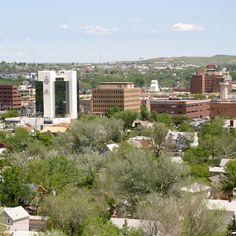 Rapid City, South Dakota.