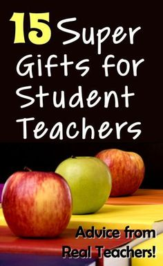 15 Super Gifts for Student Teachers! is part of crafts Gifts For Teachers Do you have a student teacher this semester If so, you might be trying to think of the perfect gift idea! Student Teacher Gifts, Real Teacher, Teacher Hacks, Gifts For Students, Teacher Binder, Gifts For New Teachers, Teacher Stuff, School Teacher, Classroom Behavior