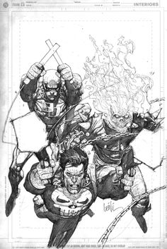 pencils of the comicbox cover by ~leinilyu on deviantART