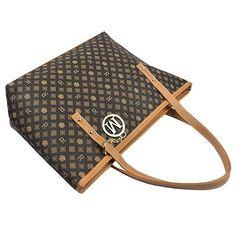 0c0ed9a96 Amazon.com: Micom Casual Firma de impresión piel sintética bolso de mano  bolso de hombro con decoración de metal para las mujeres, L: Shoes