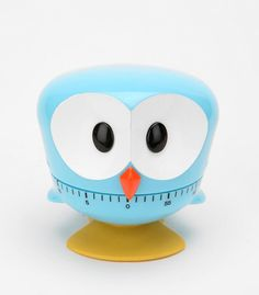 Kikkerland Owl Kitchen Timer - I'd love to have this little guy helping me cook <3