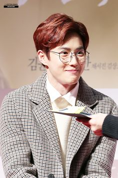 Suho - 161212 'Will You Be There?' VIP première Credit: Cotton Peach. ('당신, 거기 있어 줄래요' VIP 시사회) suho spam for suho day!