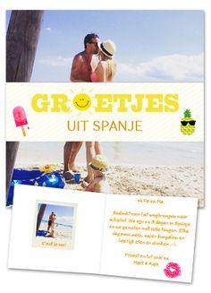 Groetjes uit Spanje! #Hallmark #HallmarkNL #foto's #vakantie #fotokaart