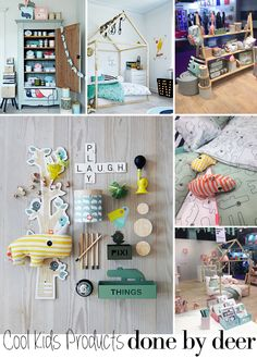 """COOL KIDS PRODUCTS - done by deer: """"Designed with a distinctive graphic edge"""", that's how the Danish brand, done by deer describes its concept..."""