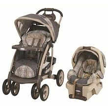 Graco Quattro Tour Travel System with SnugRide 30 Infant Car Seat - Chadwick
