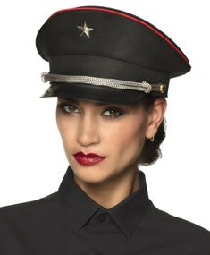 Punk Rave Pin-up Military Army Officer Costume Long Sleeve Blouse Top Shirt