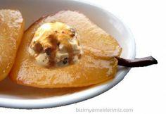 Dondurmalı kavrulmuş armut tatlısı   Çok basit fakat çok lezzetli bir tatlı. Üstelik çok masraf gerektirmeyen ve kolay yapılan. Hadi geçelim tarife