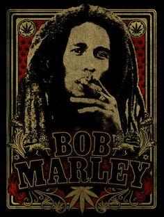 Bob Marley Regal Spliff Otis L. Bob Marley Legend, Bob Marley Art, Bob Marley T Shirts, Bob Marley Quotes, Reggae Art, Reggae Music, Bob Marley Pictures, Poster Wall, Poster Prints