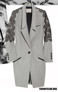 Как преобразить старое пальто