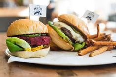 Locally sourced burgers and fries with house-made condiments and ice cream are all on the menu.