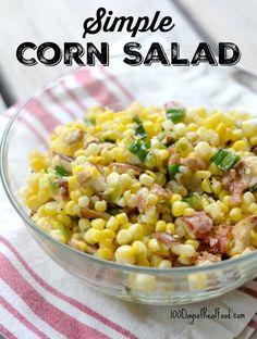 Simple Corn Salad on