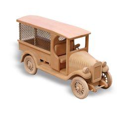 PATTERNS & KITS :: Trucks :: 40 - Railroad Baggage Car -