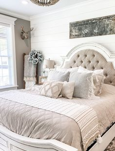"""I feel like a lot of people think that I spend lots of money getting new things for my home- but that is ABSOLUTELY not true! I like to think with the """"work smarter not harder"""" mindset when it comes to decorating… which means I'm always trying out new HOME HACKS to make decorating easier! #HomeDecor #HomeDesign #HomeHacks"""