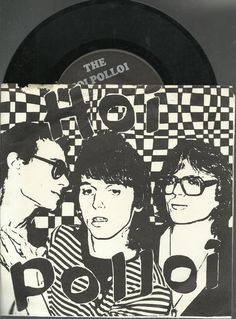 HOI POLLOI  the watcher MICHIGAN PUNK HARD GROUP ROCK 45 RPM RECORD #AlternativeIndie