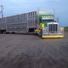 This was the best truck that ever loaded out our cows