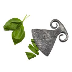 STEEL HERB CHOPPER | recycled steel utensil, blacksmith | UncommonGoods