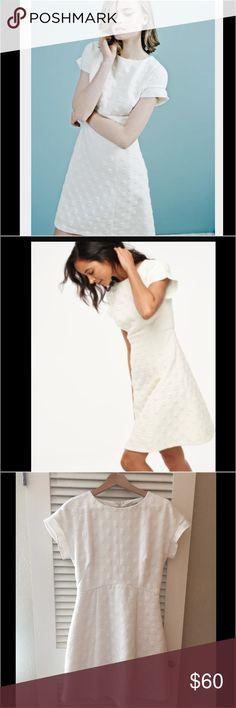 Boden white Sz 6 Mollie Dress Boden Mollie Fit and flare dot dress gorgeous ⭐️Sz 6 EUC Boden Dresses Midi