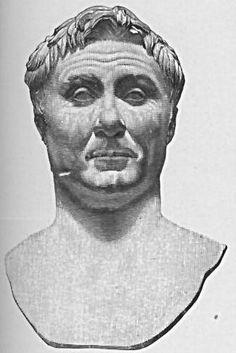 Cneo Pompeyo Magno // Triunviro famoso por sus campañas en África, Sicilia, Hispania y Asia.