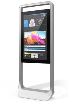 Digital Billboards Stand Up Kiosk Design, Id Design, Signage Design, Stand Design, Display Design, Banner Design, Booth Design, Graphic Design, Lcd Panel Design