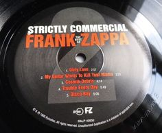 FRANK ZAPPA Strictly Commercial 1995 RYKODISC 2LP NUMBERED w/INSERT - MINT