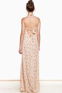 Frolic & Roam Maxi Dress in Blush