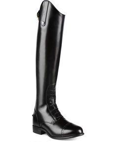 dfc45ca3383 Ariat Womens Quantum Crowne Pro Field Zip Riding Boots