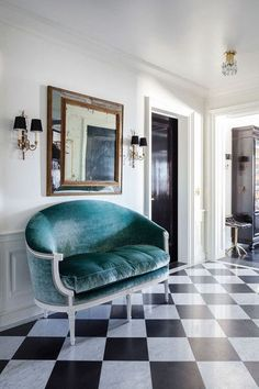 Tantalizing Teal - The Best Colorful Couch Inspiration - Photos