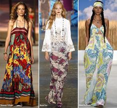 Spring/ Summer 2016 Fashion Trends: Gypset Bohemian Style  #trends #fashiontrends