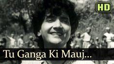 Tu Ganga Ki Mauj (HD) - Baiju Bawra Songs - Meena Kumari - Bharat Bhusha...