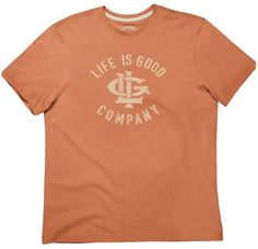 Creamy LIG Logo T-Shirt by Life is good