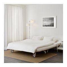 อิเกีย พีเอส มูร์บู โซฟาเบด 2 ที่นั่ง - Vansta น้ำเงินเข้ม, - - IKEA