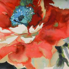 poppy art | ... Art & Soul Fabrics & Wallpapers Jardin Fabric - Poppy - 8503/340