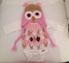 Baby Owl Costume!  https://www.etsy.com/listing/165638048/baby-owl-costume