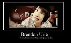 Brendon Urie is possibly the only person who can rock pjs and that face