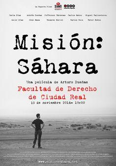 Mañana 10 de noviembre a las 18:00 se proyectará Misión: Sáhara en la Facultad de Derecho de Ciudad Real