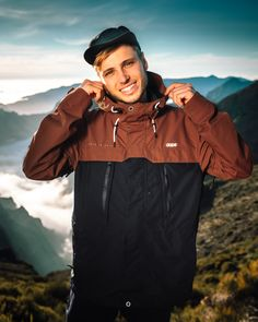 Check out the new Trekker Jacket from Dope. This stylish and functional jacket redefines breathability while still maintaining the most stylish of looks.  It's designed to look equally good on an urban stroll as on an alpine hike, with built-in performance to conquer the severest challenges. Snowboarding, Rain Jacket, Windbreaker, That Look, Guys, Stylish, Model, Jackets, Challenges