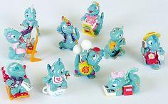 Die Dapsy Dino Family 1997 (Komplettsätze)