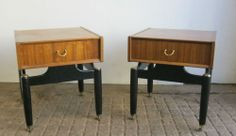 A Classic Pair Of G Plan Bedside Tables