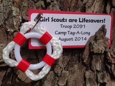 For sale are ten (10) Girl Scouts are Lifesavers! SWAP or Craft Kits. All aboard! OR Bon Voyage! These SWAP kits certainly have the nautical touch.