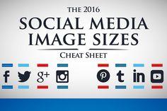 Infográfico mostra dimensoes de imagens das principais redes sociais para 2016 - Blue Bus