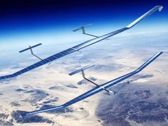 Airbus is just one of several companies racing to produce high-flying, long duration drones that can replace satellites without going into space.